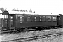 """Westwaggon ? - DB """"Mst 3"""" 08.07.1961 - Wangerooge, BahnhofGerd Wolff (Archiv Wolf D. Groote)"""